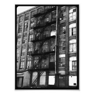 Old Mill Fire Escape Photo Print
