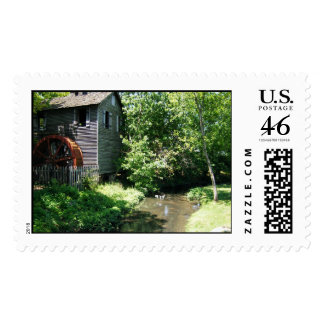 Old Mill in Cannonsburgh Stamps