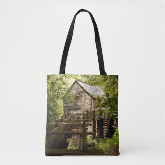 Old Mill in the Smoky Mountains Tote Bag