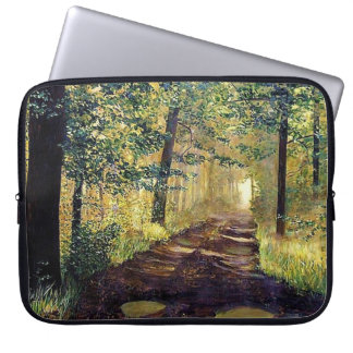 """OLD MILL ROAD LAPTOP SLEEVE"" COMPUTER SLEEVES"