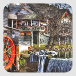 Old Mill Square Sticker
