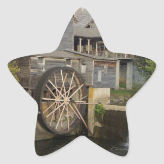Old Mill Star Sticker