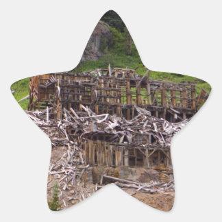 Old Mill Star Sticker