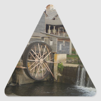 Old Mill Triangle Sticker