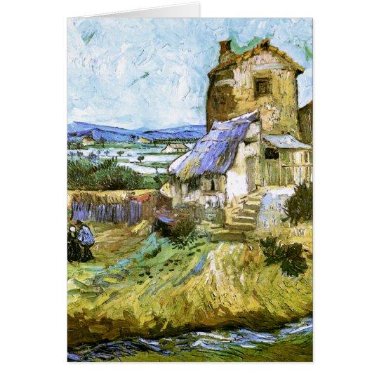 Old Mill Van Gogh Fine Art Card