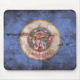 Old Minnesota Flag Mouse Pad