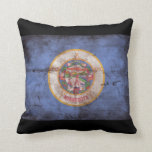 Old Minnesota Flag Pillows