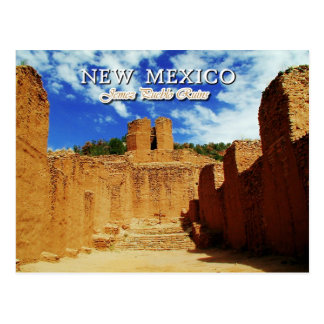 Old Mission Church, Jemez State Monument, NM Postcard