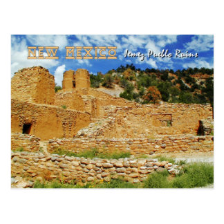 Old Mission Church, Jemez State Monument, NM Post Card