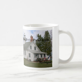 Old Mission Point Light, MI Mug