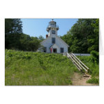 Old Mission Point Lighthouse Card