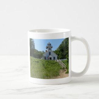 Old Mission Point Lighthouse Coffee Mug