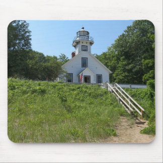 Old Mission Point Lighthouse Mouse Pad