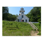 Old Mission Point Lighthouse Post Card