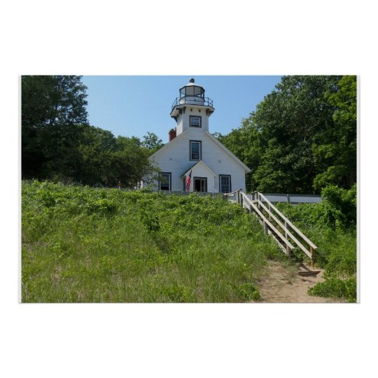 Old Mission Point Lighthouse Poster