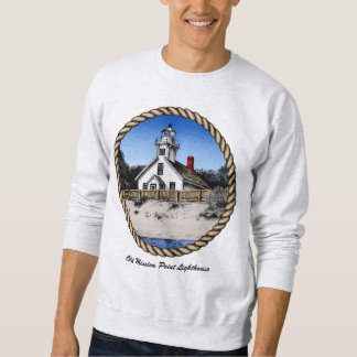 Old Mission Point Lighthouse Pullover Sweatshirt