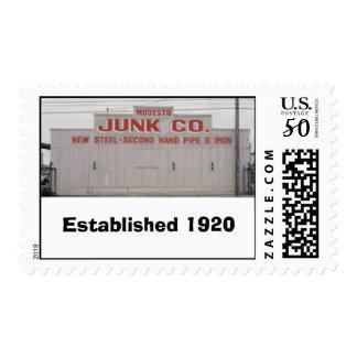 old_mjc, Established 1920 Postage