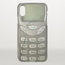 Old mobile phone iPhone x case