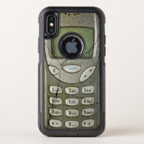 Old mobile phone OtterBox commuter iPhone x case