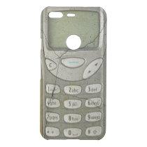 Old mobile phone uncommon google pixel case