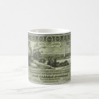 Old Money – 1896 $1 Coffee Mug