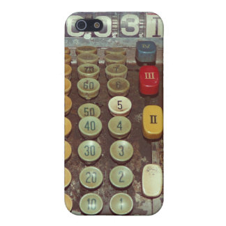 Old Money - Antique Cash Register Machine Cover For iPhone SE/5/5s