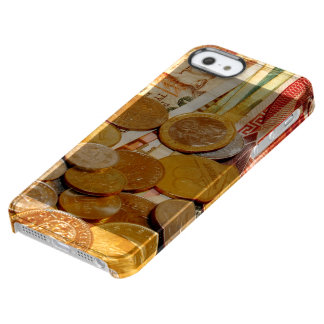 old money clear iPhone SE/5/5s case