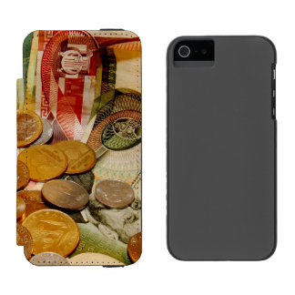 old money wallet case for iPhone SE/5/5s
