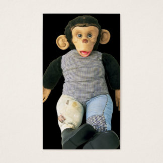 Old Monkey Doll Business Card