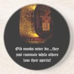 Old Monks Drink Coaster