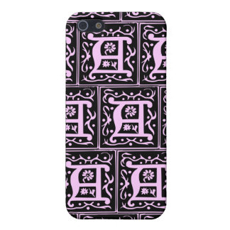 Old Monogram Pattern Letter A iPhone 4 Case