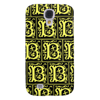 Old Monogram Pattern Letter B iPhone 3G/3GS Case Galaxy S4 Cover