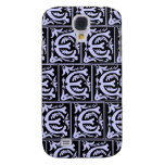 Old Monogram Pattern Letter E iPhone 3G/3GS Case Samsung Galaxy S4 Cases