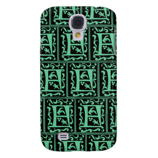 Old Monogram Pattern Letter F iPhone 3G/3GS Case Galaxy S4 Cover