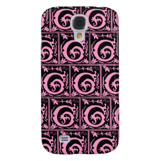Old Monogram Pattern Letter G iPhone 3G/3GS Case Samsung Galaxy S4 Cases
