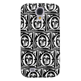 Old Monogram Pattern Letter O iPhone 3G/3GS Case Samsung Galaxy S4 Case