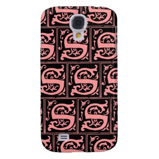 Old Monogram Pattern Letter S iPhone 3G/3GS Case Galaxy S4 Cases