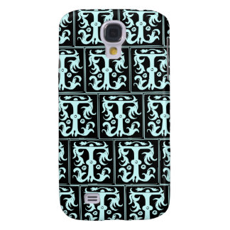 Old Monogram Pattern Letter T iPhone 3G/3GS Case Galaxy S4 Cover