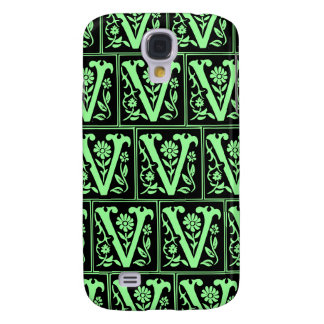 Old Monogram Pattern Letter V iPhone 3G/3GS Case Galaxy S4 Cases