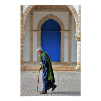 Old Moroccan Photo Print