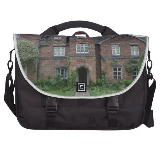 Old Moseley Hall 17th Century English Farmhouse Commuter Bags