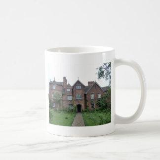 Old Moseley Hall 17th Century English Farmhouse Coffee Mugs
