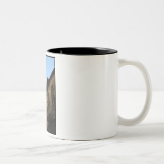 Old Mosque in Damascus - Syria Two-Tone Coffee Mug