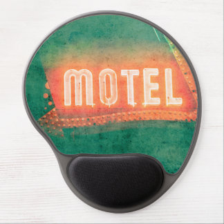 Old Motel Gel Mouse Pad