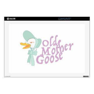 "Old Mother Goose 17"" Laptop Skin"