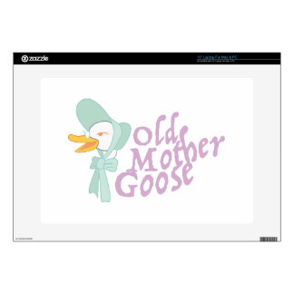 Old Mother Goose Decals For Laptops