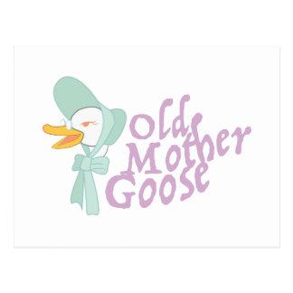 Old Mother Goose Postcard