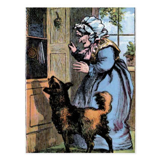 Old Mother Hubbard and her Dog Postcard