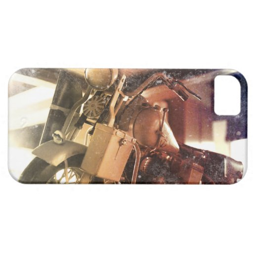 Old Motocycle iPhone 5 Cover