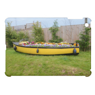 Old Motor Boat With Flowers iPad Mini Case